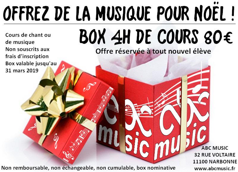 cadeau musique noel